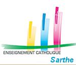 logo ens. cath. sarthe